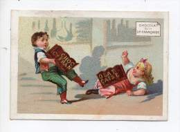 Chromo - Chocolat De La Compagnie Française - C. Lainé, Neauphle Le Chateau (Seine Et Oise) - Chocolate