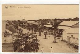 Carte Postale Ancienne Congo - Kinshasa. La Rue De Léopoldville - Kinshasa - Léopoldville