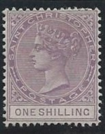 Colonie Anglaise, St Christopher, N° 16* - St.Christopher-Nevis-Anguilla (...-1980)
