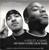 CD Promotion Les Sales Gosses Feat Passi - à Feu Et à Sang - 2005 2 Titres Musique - Musik & Instrumente