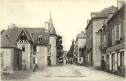19/ Belle CPA - Meymac - La Bascule Et Rue De La Poste - France