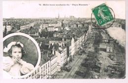"""Mille Bons Souhaits Du """" Pays Nantais """" . Etat . - Nantes"""