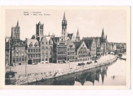 24869 ( 2 Scans ) Gent Graskaai - Gand Quai Aux Herbes - Gent