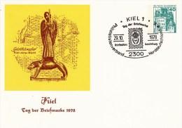 PP 100/84  Kiel - Tag Der Briefmarke 1978, Kiel 1 - Privatpostkarten - Gebraucht