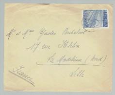 Liège Vers France Lille - Sur 765 - Tarif International - Postmark Collection