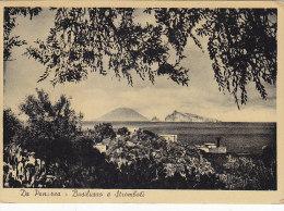 AA138- Da Panarea - Basiluzzo E Stromboli - Isole Eolie - Messina  - F.g. Vg 1951. - Messina
