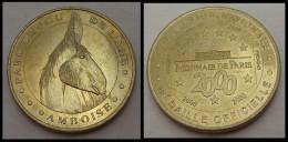 M�DAILLE MONNAIE DE PARIS PARC LE FOU DE L��NE 2000