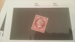 LOT 229351 TIMBRE DE FRANCE OBLITERE N�17B VALEUR 55 EUROS