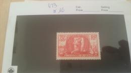 LOT 229359 TIMBRE DE FRANCE NEUF** N�423 VALEUR 16  EUROS