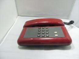 TELEFONO FISSO SIP ROSSO DA COLLEZIONE - Telefonia