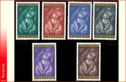 Rwanda 0128/33**  Noel  MNH