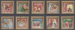 Nederland - Decemberzegels 2010 - Gebruikt-gebraucht-used - NVPH 2778 - 2787 - Period 1980-... (Beatrix)