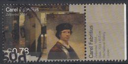 Nederland - Carel Fabritius - Gebruikt-gebraucht-used - NVPH 2292 Tab Rechts - Periode 1980-... (Beatrix)
