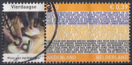 Nederland - Provincievlaggen En Volksliederen - Gelderland - Gebruikt-gebraucht-used - NVPH 2068 Tab Vierdaagse - Periode 1980-... (Beatrix)