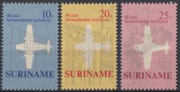Suriname - 40 Jaar Binnenlandse Luchtpost - Postfris/MNH - NVPH 540 - 542 - Suriname ... - 1975