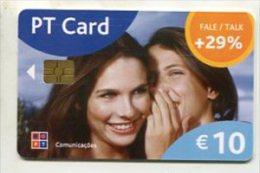 TK 7453 PORTUGAL - Chip PT Card - Portugal