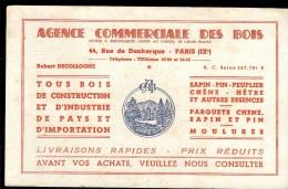 BUVARD AGENCE COMMERCIALE DES BOIS PARIS IXe - Agriculture