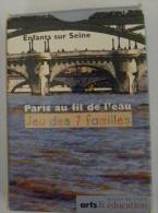 Jeu de Cartes 7 Familles PARIS au Fil de l'Eau Enfants sur Seine Arts & Education - Ponts Bateaux Faune Flore Monuments