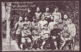 Photo Des Médecins Militaires Du Camp De Langensalza.Voir Scans - Guerre, Militaire