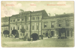 EPERJES Vároháza Sárosvármegyei Takarékpénztár 1921 - Hungary