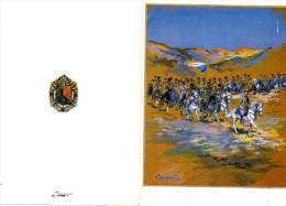 Carte Du 1er Régiment étranger Cavalerie - Army & War