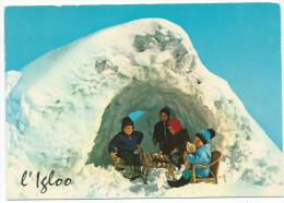 Enfants Enfant L´IGLOO (neige)   (  Editions : CELLARD  F 30876)*PRIX FIXE - Szenen & Landschaften