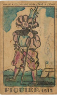 Vieux Papiers - Image - Image à Colorier Piquier 1515 - Image Phosphatine Falières Asnières - Autres