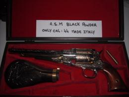 Revolver ASM poudre noire + coffret
