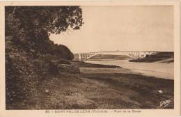 CPA 29 SAINT POL DE LEON Le Pont De La Corde - Saint-Pol-de-Léon