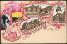 Karte Schwerin, um 1900 selbstgemacht