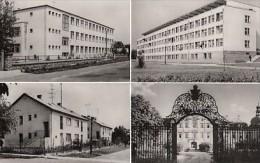 5238- EDELENY- CASTLE, SCHOOL, APARTMENT BUILINGS, POSTCARD - Hungary