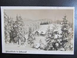 AK ZUCKMANTEL Hubertusbaude Zlate Hory Ca.1940///  U4585 - Tschechische Republik