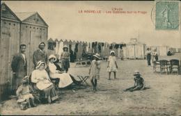11 PORT LA NOUVELLE / Les Cabines Sur La Plage / - Port La Nouvelle