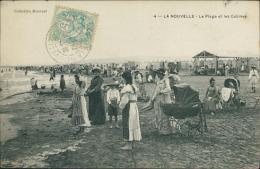 11 PORT LA NOUVELLE / La Plage Et Les Cabines / - Port La Nouvelle