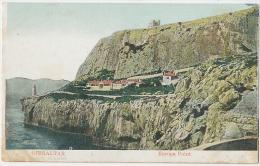 Gibraltar Europa Point C. 1908 Colour - Gibilterra