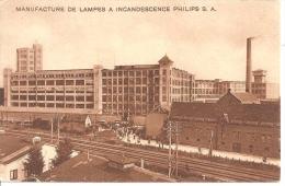 MANUFACTURE DE LAMPES A INCANDESCENCE,PHILIPS S.A .JOLI PLAN DETAILS A VOIR !!    REF 40223 - Industrie