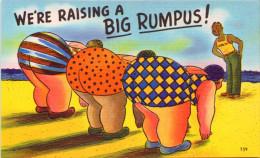We´re Raising A Big Rumpus ! - Humour
