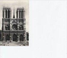 Notre Dame  ( Facade ) Paris   Sent To Denmark    S-1572 - Notre Dame De Paris