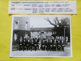 "PHOTO DE GROUPE  :  23 Eme SESSION "" ORGANISATION - GESTION - COMPTABILITE ""    1967 - Persone Identificate"
