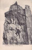 ROCK CLIMBING - THE FACE OF THE PINNACLE - Climbing