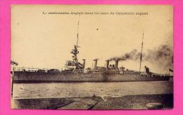 Le Stationnaire Anglais Dans Les Eaux Du Cameroun Anglais - Warships