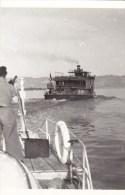 PHOTO13.8./9.CM : VAPEUR DU RHIN REQUISITIONNE EN 1946 . B.ETAT.CLICHE E.C.P.A.