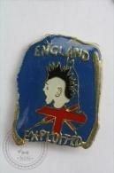 England Exploited - Pin Badge #PLS - Música