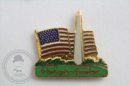 Washington Monument - Pin Badge #PLS - Ciudades
