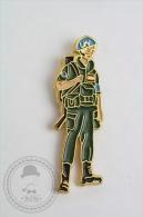 UN United Nation Spanish Soldier - Pin Badge #PLS - Militares