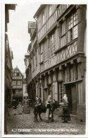 76 CAUDEBEC-EN-CAUX ++ Au Bon Vieux Temps. Rue Des Halles ++ - Caudebec-en-Caux