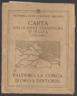 7922BIS-T.C.I-PALERMO, LA CONCA D´ORO E DINTORNI-SCALA 1:50.000 - Carte Geographique