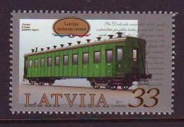 Latvia 2011. Railway Carriage. 1 W. Pf. MNH - Lettland