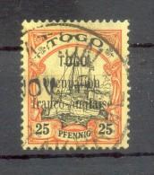 Togo FRANZÖSISCH 4 LUXUS Gest. 50EUR (Z2313 - Colonie: Togo