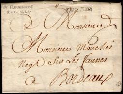 Gers: LECTOURE Sur LAC De 1769 - Marcophilie (Lettres)
